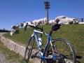 Met de racefiets op col de Port vanuit Vicdessos