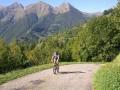 Beklimming van Col de Pause, eerste gedeelte