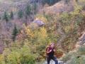 Wandelen in de late herfst