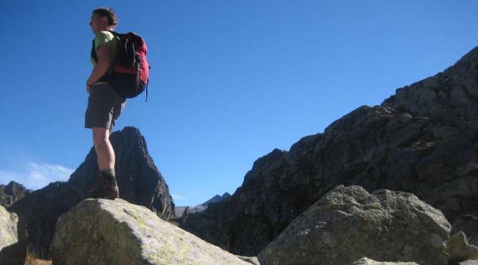 Wandlen Innen wandelen in de pyreneeën