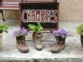 Hotelkamer in de Pyreneeën