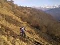 Met de Mountainbike over een gedeelte van de GR10