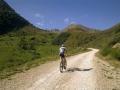 Bijna op de top van Col de Pause