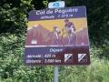 Col de Péguere, kort maar erg steil