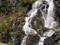 Eén van de vele watervallen in de Pyreneeën