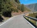 Mooie bochten voor de motor in de Pyreneeën