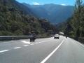 Pyreneeën met de motor