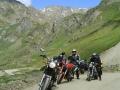 Motorrijden in de Pyreneeën van Frankrijk