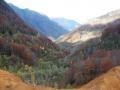 Herfstfoto vanaf de oude wolfraammijn