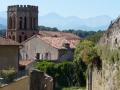Saint Lizier en het voormalig bisschoppelijk paleis