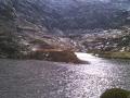 Prachtig hooggebergte meer in de Pyreneeën