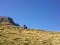 Wandelen richting Port d'Aula, Pyreneeën
