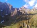 Het markante Mont Valier massief.