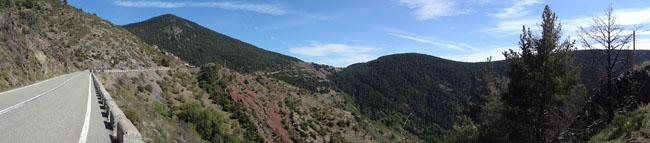 Motorradfahren in den Pyrenäen