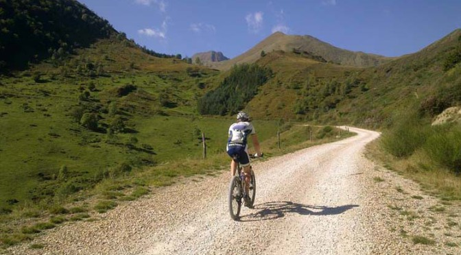 Mountainbiken in de Pyreneeën