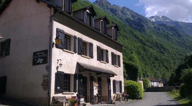 Auberge les Myrtilles, hotel Pyreneeën